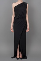 Mason by Michelle Mason Asymmetrical Gown