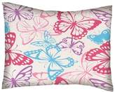 SheetWorld Twin Pillow Case - Twin Pillow Case - Butterflies Jersey Knit - Made In USA