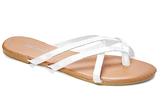 Wet Seal White Selene Sandal