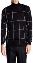 Lindbergh Roll Neck Knit Jacquard Sweater