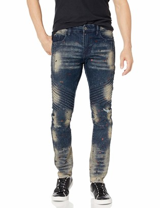 Southpole Men's 9180 Signiture Skinny Fit Fashion Denim Pants