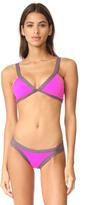 L-Space Colorblock Farrah Bikini Top