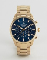 Accurist Chronograph Bracelet Watch In Gold