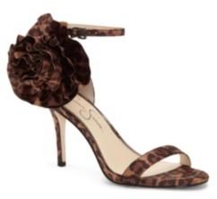 Jessica Simpson Ellira Strappy Flower Dress Sandals Women's Shoes