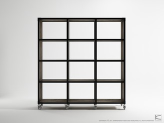 Soundslike HOME Atelier 12 Shelving Unit Black