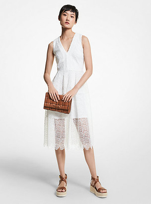 MICHAEL Michael Kors MK Floral Lace Dress - White - Michael Kors