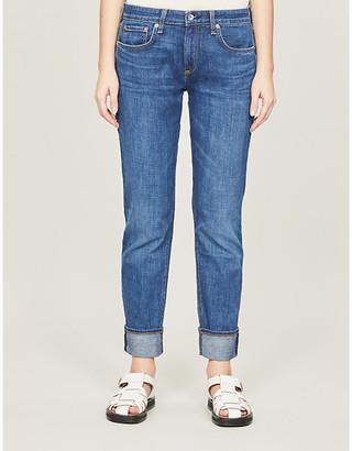 Rag & Bone Dre boyfriend-fit low-rise jeans