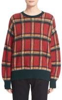Moncler Women's Wool Blend Check Sweater