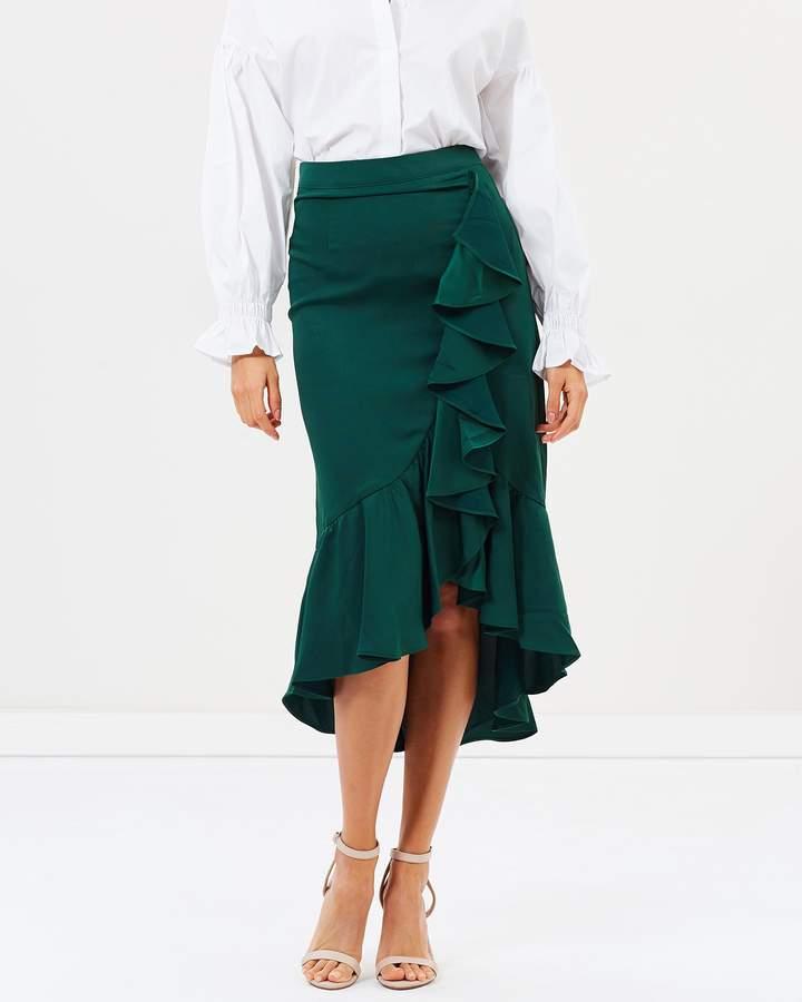 Mary Midi Wrap Skirt
