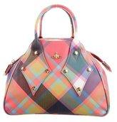 Vivienne Westwood Plaid Derby Bag