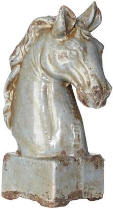OKA Marengo Horse Head - Blue