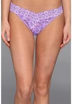 Hanky Panky Cross-Dyed Signature Lace Original Rise Thong Women's Underwear