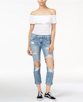 True Religion Cameron Cotton Slim-Leg Jeans