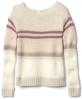 Gap Shimmer stripes sweater