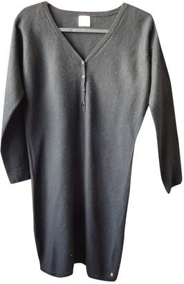 Des Petits Hauts Black Wool Dress for Women