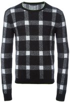 Christopher Kane checked jumper