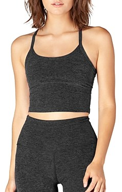 Beyond Yoga Space-Dye Racerback Cropped Top
