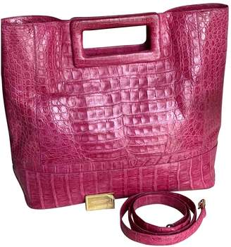 Nancy Gonzalez Pink Leather Handbags