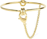Eddie Borgo Safety Chain Gold-plated Choker - one size