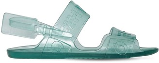 Off-White Off White 10MM ZIP TIE JELLY SANDALS