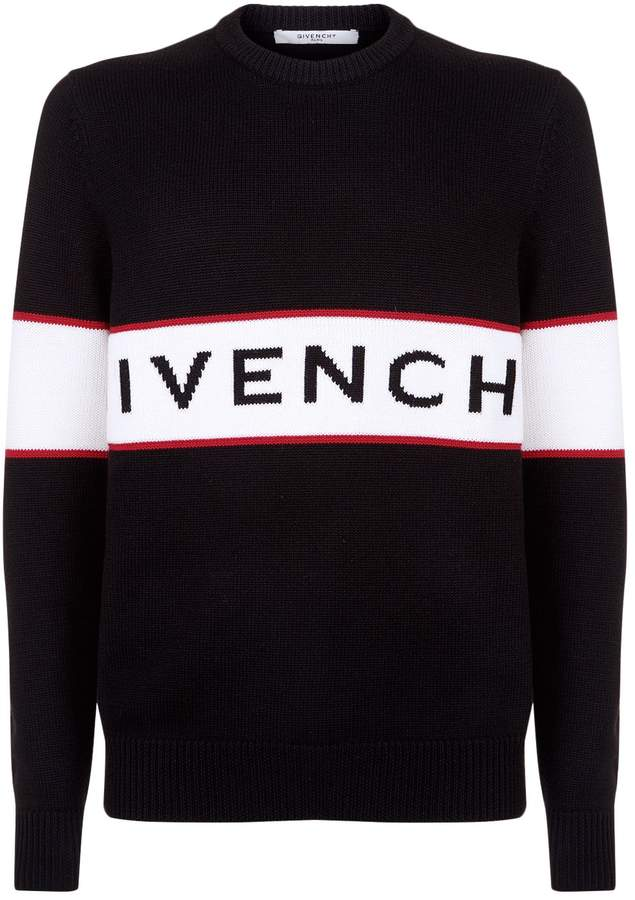 Givenchy Logo Wool Sweater