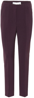 Victoria Victoria Beckham Wool-blend straight-leg pants