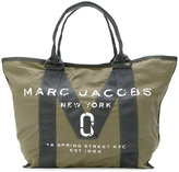 Marc Jacobs logo tote - women - Cotton - One Size