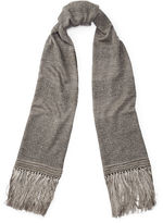 Ralph Lauren Felted Rugby-Striped Scarf
