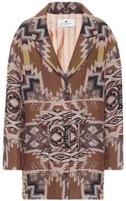 Etro Exclusive to Mytheresa Printed wool-blend jacket