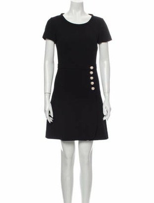 Boutique Moschino Wool Mini Dress Wool