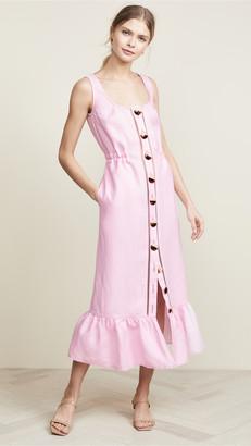 Nicholas Button Front Garden Dress