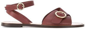 Tila March crossover strap Sedano sandals