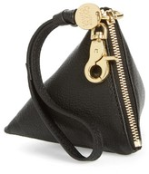 See by Chloe Women's Goatskin Leather Coin Purse - Black