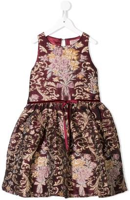 Marchesa Notte Mini Gwen embroidered dress