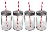 Cathy's Concepts Monogram Drinking Mason Jar Mugs