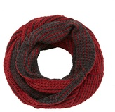 Mantaray Red Plaited Snood