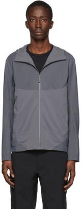Veilance Grey Dyadic Comp Hoodie Jacket