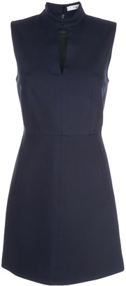 Tibi a-line key hole dress