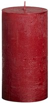 Rustic 103667640341 Metallic Pillar Candle, Paraffin Wax, CM