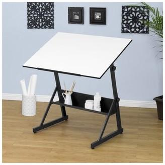 Solano Symple Stuff Hursey Height Adjustable Drafting Table Symple Stuff