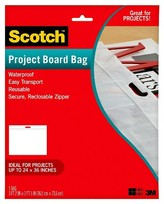 Scotch Project Board Bag, 26 in x 38 in