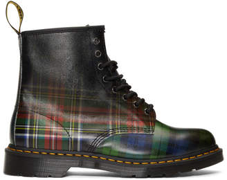 Dr. Martens Multicolor Plaid 1460 Tartan Boots