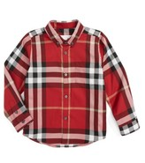 Burberry Boy's Mini Fred Check Woven Shirt