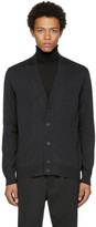 Marc Jacobs Black Elbow X Patch Cardigan
