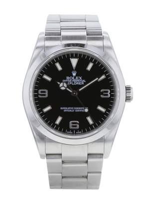 Rolex Explorer 39mm Khaki Steel Watches