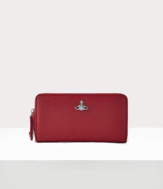 Vivienne Westwood Classic Zip Round Wallet Red