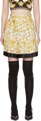 Versace White Barocco Signature Skirt