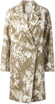 Jason Wu Printed Oversize Coat