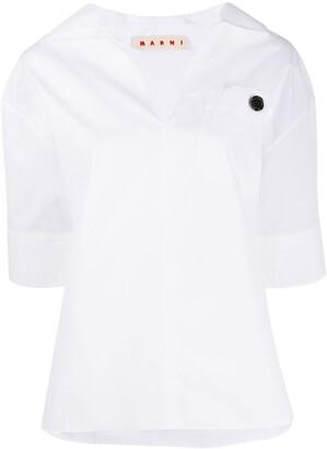 Marni collared T-shirt