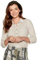 M&Co Striped cotton shirt